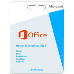 Office Hogar y Empresas  2013 32/64 Bits Dvd Caja