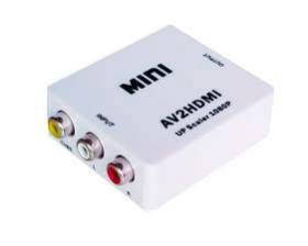 Caja convertidora de av a hdmi (av2hdmi)mini
