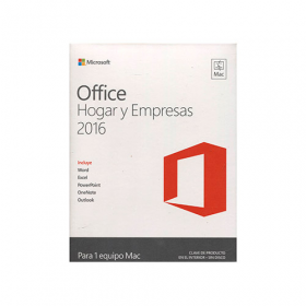 Office Hogar y Empresas para Mac 2016 32/64 Bits Descarga Esd